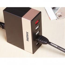 Remax Ming Series RU-U1 5 Ports USB Hub Charger with Super Charger (EU Plug) - White - 4