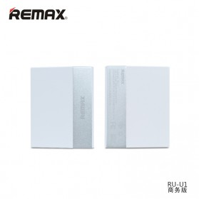 Remax Ming Series RU-U1 5 Ports USB Hub Charger with Super Charger (UK Plug) - White - 1