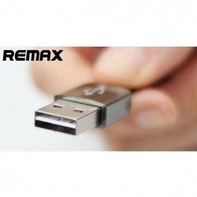 Remax King Kong Lightning Cable 1m for iPhone 5/6/7/8/X - RC-C05i - Black - 2