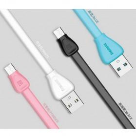 Remax Martin Series Micro USB Cable for Smartphone - RC-028m - Black - 3