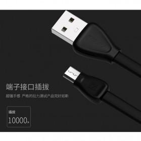 Remax Martin Series Micro USB Cable for Smartphone - RC-028m - Black - 4