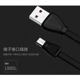 Remax Martin Series Micro USB Cable for Smartphone - RC-028m - White - 4