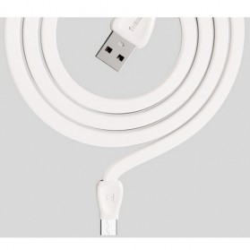 Remax Martin Series Micro USB Cable for Smartphone - RC-028m - White - 5