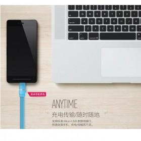 Remax Breathe Micro USB Data Cable for Smartphone - RC-029m - Black - 4