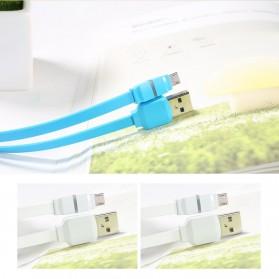 Remax Breathe Micro USB Data Cable for Smartphone - RC-029m - Black - 7