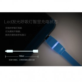 Remax Breathe Lightning Data Cable for iPhone - RC-029i - Black - 4