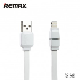 Remax Breathe Lightning Data Cable for iPhone - RC-029i - White