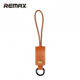 Remax Western Keychain Lightning Cable 32cm for iPhone 6/7/8/X - RC-034i - Brown
