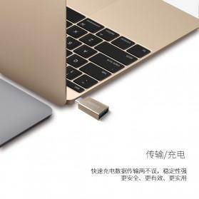 Remax USB Type C to USB 3.0 OTG Smartphone - RA-OTG1 - Silver - 2