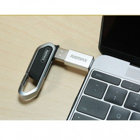 Remax USB Type C to USB 3.0 OTG Smartphone - RA-OTG1 - Silver - 9