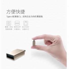 Remax USB Type C to USB 3.0 OTG Smartphone - RA-OTG1 - Golden - 3