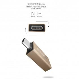 Remax USB Type C to USB 3.0 OTG Smartphone - RA-OTG1 - Golden - 6