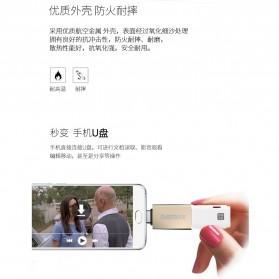 Remax USB Type C to USB 3.0 OTG Smartphone - RA-OTG1 - Golden - 7