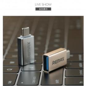Remax USB Type C to USB 3.0 OTG Smartphone - RA-OTG1 - Golden - 8