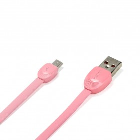Remax Shell Micro USB Cable for Smartphone - RC-040m - Pink