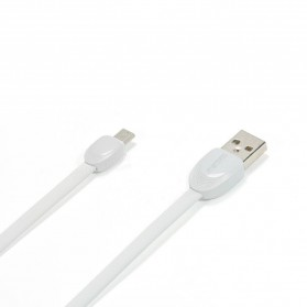 Remax Shell Micro USB Cable for Smartphone - RC-040m - White