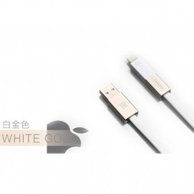 Remax Shadow Magnet 2 in 1 Micro USB / Lightning Pin for Smartphone and iPhone 5/6/7/8/X - RC-026t - Golden
