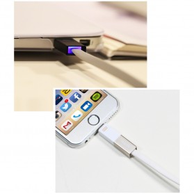 Remax Shadow Magnet 2 in 1 Micro USB / Lightning Pin for Smartphone and iPhone 5/6/7/8/X - RC-026t - Golden - 4