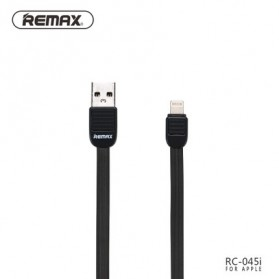 Remax Puff Fast Charging Lightning USB Cable for iPhone 5/6/7/8/X - RC-045i - Black