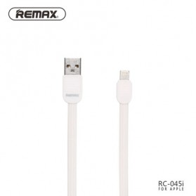 Remax Puff Fast Charging Lightning USB Cable for iPhone 5/6/7/8/X - RC-045i - White