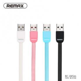 Ремакс Слоеное быстрой зарядки Micro USB-кабель для смартфонов - RC-045m - черный - 2