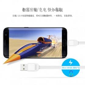 Ремакс Слоеное быстрой зарядки Micro USB-кабель для смартфонов - RC-045m - черный - 5