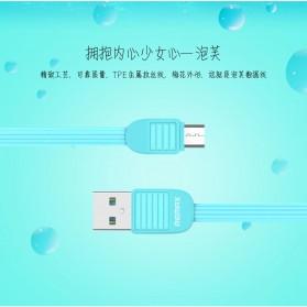 Ремакс Слоеное быстрой зарядки Micro USB-кабель для смартфонов - RC-045m - черный - 6