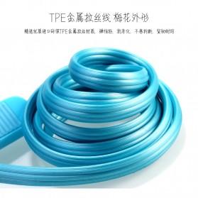 Ремакс Слоеное быстрой зарядки Micro USB-кабель для смартфонов - RC-045m - черный - 7