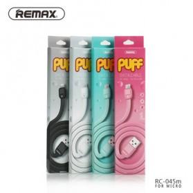 Ремакс Слоеное быстрой зарядки Micro USB-кабель для смартфонов - RC-045m - черный - 11