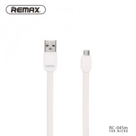Remax Puff Fast Charging Micro USB Cable for Smartphone - RC-045m - White
