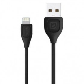 Remax Lesu Lightning Data Cable for iPhone - RC-050i - Black