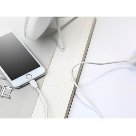Remax Lesu Lightning Data Cable for iPhone - RC-050i - Black - 9