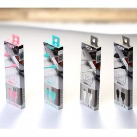 Remax Lesu Micro USB Data Cable for Smartphone - RC-050m - Black - 6