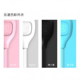 Remax Lesu Micro USB Data Cable for Smartphone - RC-050m - Black - 13