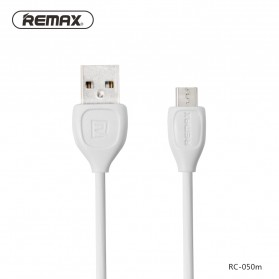 Remax Lesu Micro USB Data Cable for Smartphone - RC-050m - White