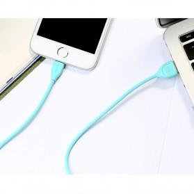 Remax Lesu Micro USB Data Cable for Smartphone - RC-050m - White - 3