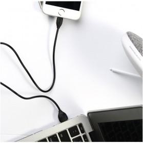 Remax Lesu Micro USB Data Cable for Smartphone - RC-050m - White - 4