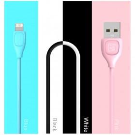 Remax Lesu Micro USB Data Cable for Smartphone - RC-050m - White - 7