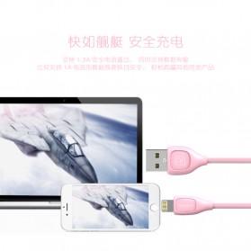 Remax Lesu Micro USB Data Cable for Smartphone - RC-050m - White - 9