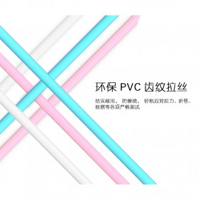 Remax Lesu Micro USB Data Cable for Smartphone - RC-050m - White - 10