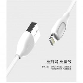 Remax Lesu Micro USB Data Cable for Smartphone - RC-050m - White - 11