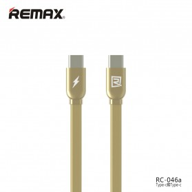 Remax Data Cable Type C to Type C - RC-046a - Golden