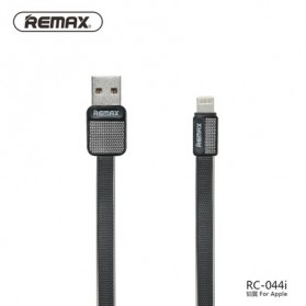 Remax Metal Fast Charging Lightning USB Cable for iPhone 5/6/7/8/X - RC-044i - Black