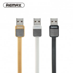 Remax Metal Fast Charging Lightning USB Cable for iPhone 5/6/7/8/X - RC-044i - Black - 2
