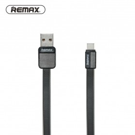 Remax Metal Fast Charging Type-C USB Cable for Smartphone - RC-044a - Black