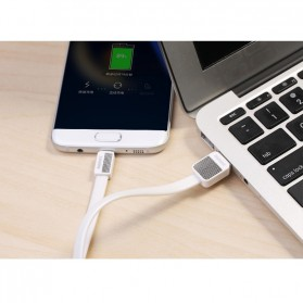 Remax Metal Fast Charging Type-C USB Cable for Smartphone - RC-044a - Black - 7