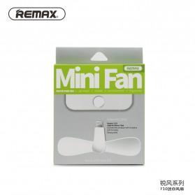 Remax Mini Portable USB Fan Lightning Port 8 Pin for iPhone 5/6 - F10 - Blue - 7