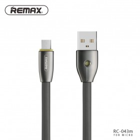 Remax Knight Micro USB Cable for Android Smartphone - RC-043m - Black - 1
