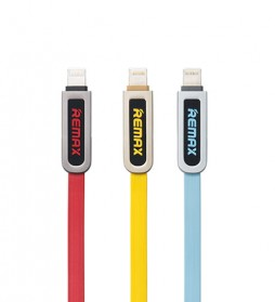 Remax Armor 2 in 1 Kabel Micro USB Lightning 2.1A - RC-067t - Blue - 2