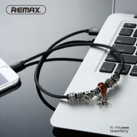 Remax Jewellery Series Kabel Lightning - RC-058i - Red - 2